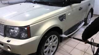 Мойка автомобиля (03-04) керхером - смываем химию.(Пару месяцев назад была сделана полная полировка кузова пастами 3М. (абразивная паста, финишная паста и..., 2015-10-28T16:43:19.000Z)