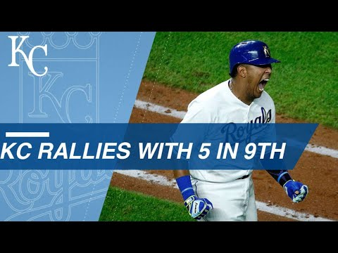 Salvy's walk-off grand slam caps Royals rally in 9th