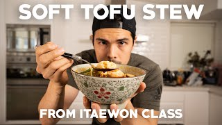 Soft Tofu and Kimchi Stew from Itaewon Class (Spicy Pork Stir Fry) | As Seen On K-Drama