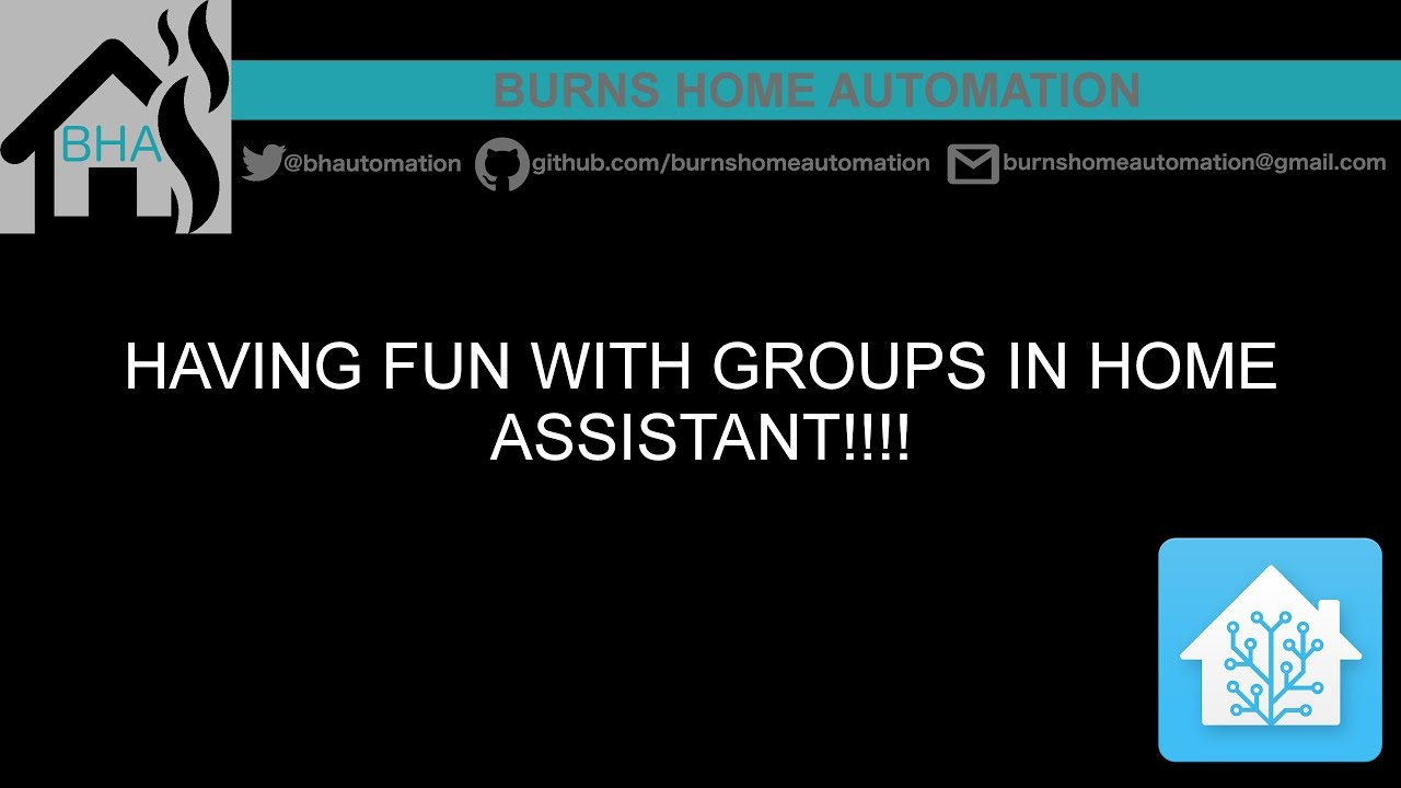 Having fun with Groups in Home Assistant!!!!