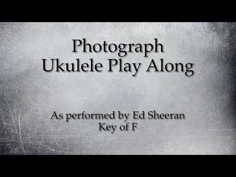 Photograph Ukulele Play Along