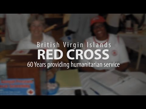 History of the BVI Redcross 60 years