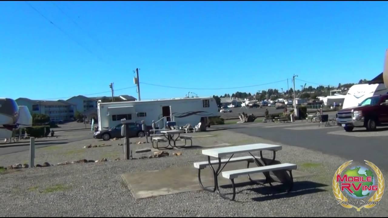 Driftwood Rv Park Brookings Oregon Youtube