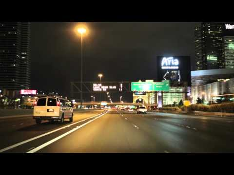 Las Vegas Freeways at Night