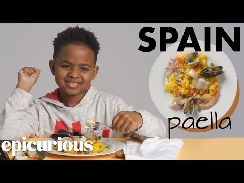 Kids Try Rice Dishes From Around The World | Bon Appétit