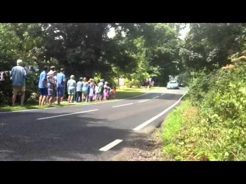 Tour de France 2014 - Stage 3 - Peloton in Little Sampford