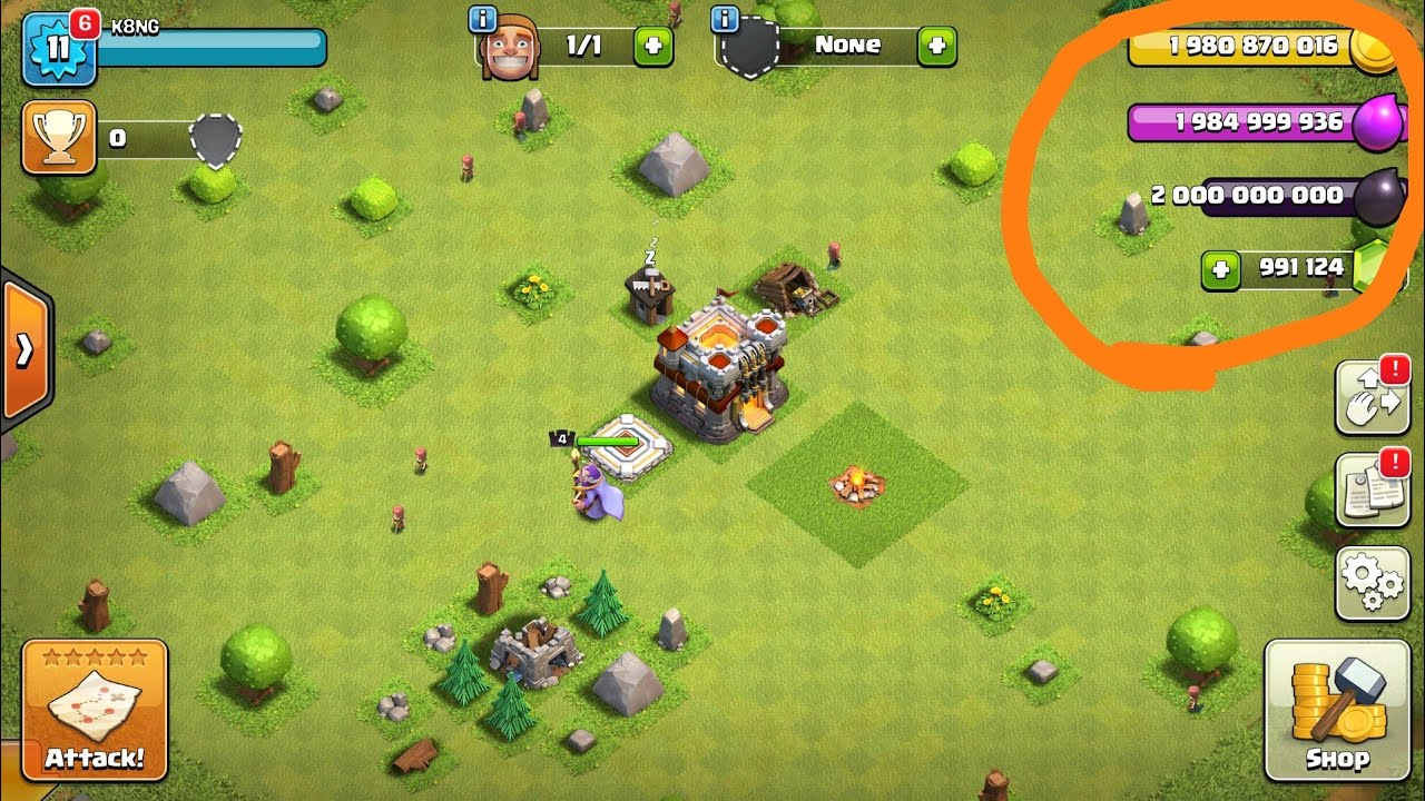 clash of clans hack for pc download