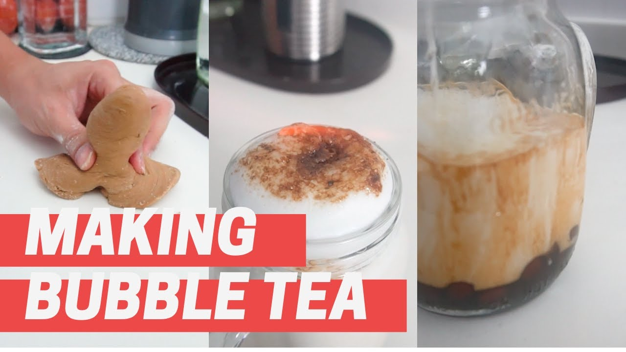 Stay Home Brown Sugar Boba Milk Tea