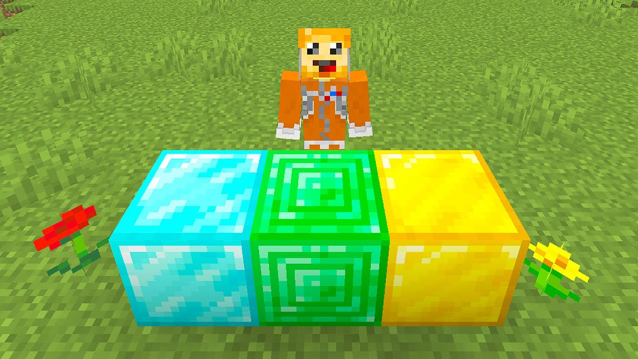 the HEAVIEST block in minecraft #shorts