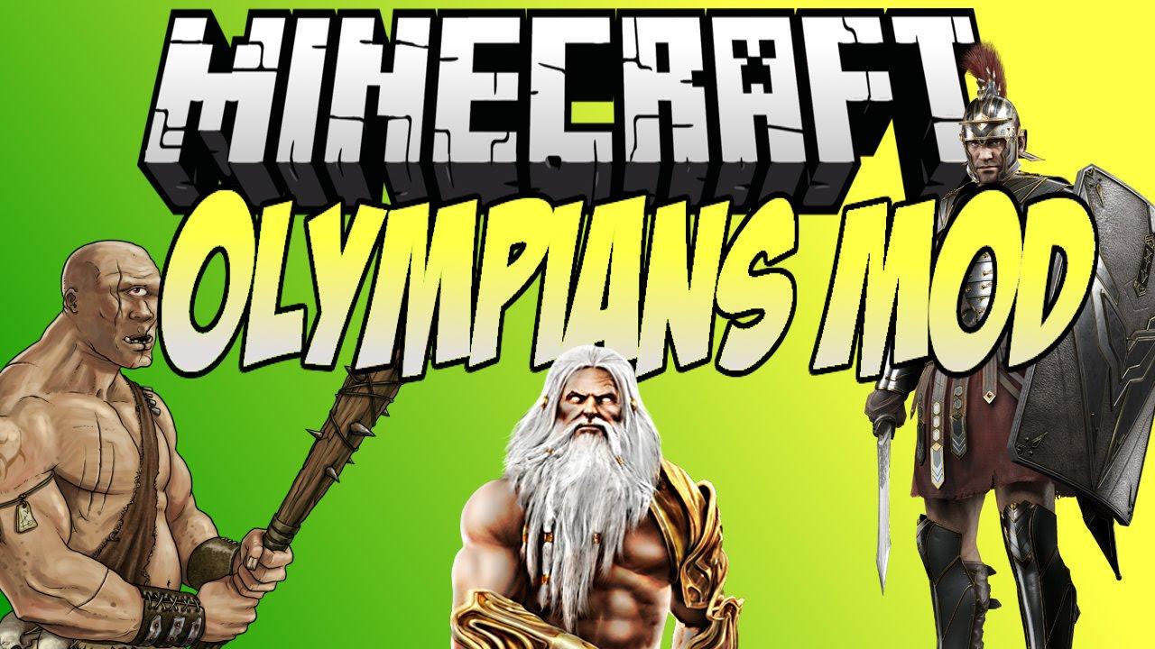 minecraft mod olympians mod meet romans and greeks 1 7 10
