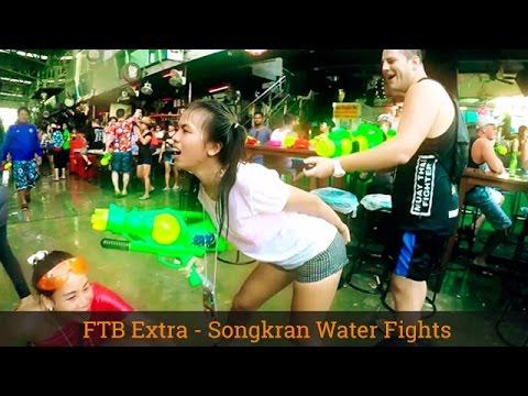 Celebrating Songkran - Thai New Year - Patong Phuket - 2016 - GoPro Hero 4