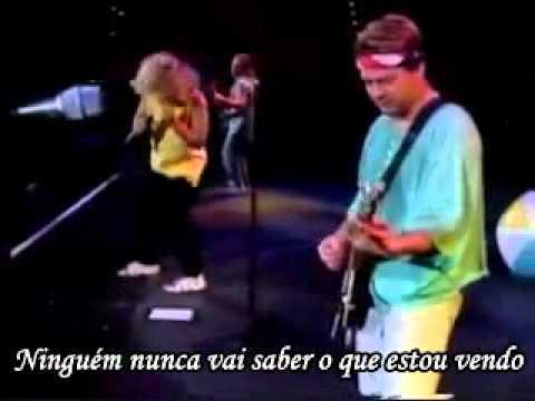 Van Halen - Feelin live 1995 (Legendado em Português).