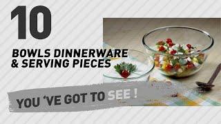 Borosil Bowls Dinnerware & Serving Pieces // New & Popular 2017