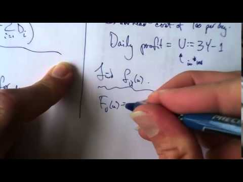 Method of Distribution Functions 1