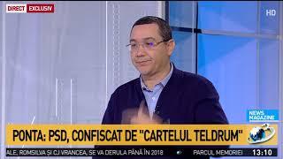 Victor Ponta, la News Magazine
