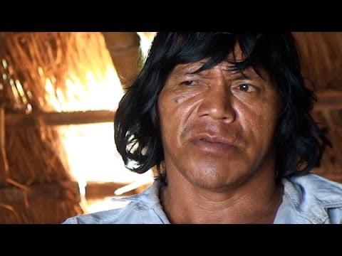 Cacique Ambrósio Vilharva, Guarani Kaiowá, diz quem o mataria