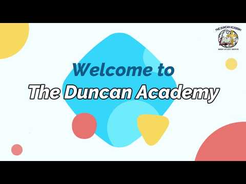 Tutorial on  E-Learning  based on Online Classes (The Duncan Academy)