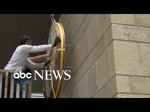 New US embassy opens in Jerusalem