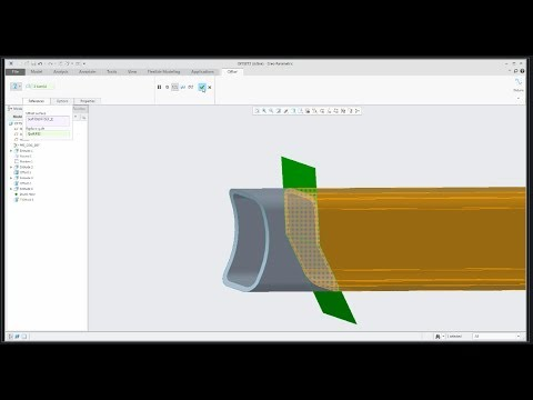 PTC Creo 4.0 tutorial: Offset feature vs. Offset option