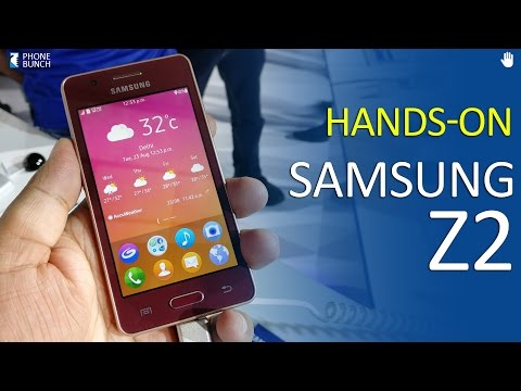 Samsung Z2 Hands-on Overview with look at Tizen OS, Gaming