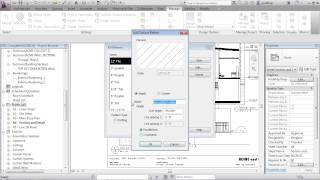 Advanced Revit Architecture 2013 Tutorial | Hatching Or Fill Patterns