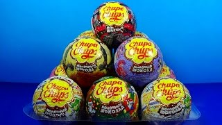 Chupa Chups surprise eggs! MONSTER HIGH Peppa Pig My Little PONY surprise eggs For Kids mymillionTV