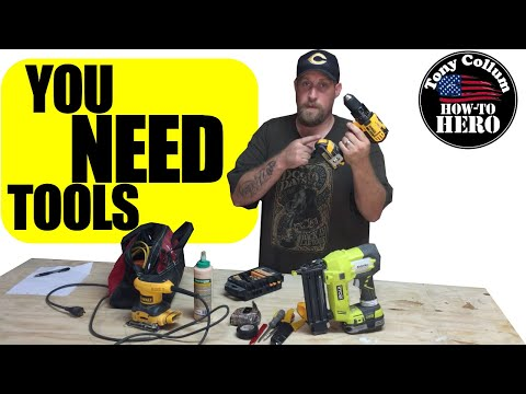 What Tools do I need as a HOMEOWNER | HANDYMAN | HOW-TO FIX THINGS | Tony Collum the How-To Hero