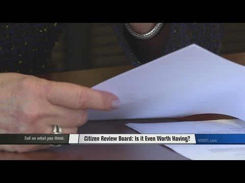 Citizens Review Board: Is it Even Worth it?