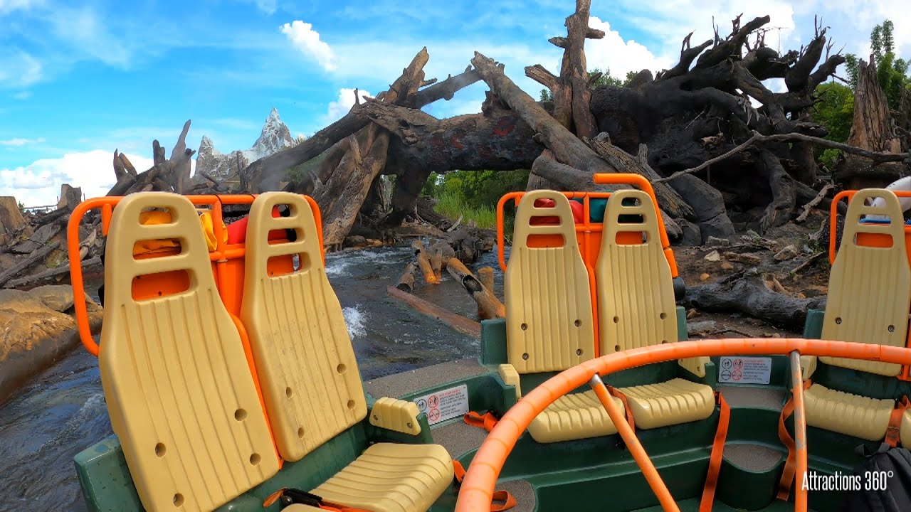 Kali River Ride - Jungle-themed Raft Ride - Disney World 2020