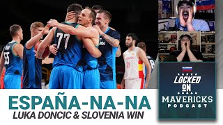 Luka Doncic & Slovenia Beat Spain in Tokyo Olympics