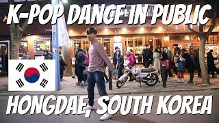 INDONESIANS DANCE IN PUBLIC IN KOREA! | BLACKPINK, GOT7, RED VELVET, WANNA ONE, BoA, EXO