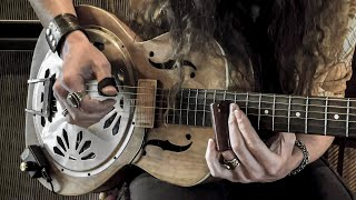 """""""Traveling Riverside Blues"""" by Led Zeppelin • Acoustic Fingerstyle Blues Guitar Cover"""