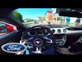 WILD! 2016 Ford Mustang GT (420Hp) Loud drive in Munich?