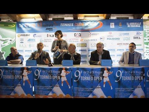 """Conferenza Stampa presentazione 9° Torneo Open """"Andritz Hydro"""" Città di Schio"""