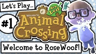 Let's Play: Animal Crossing New Leaf Welcome Amiibo (Ep 1)