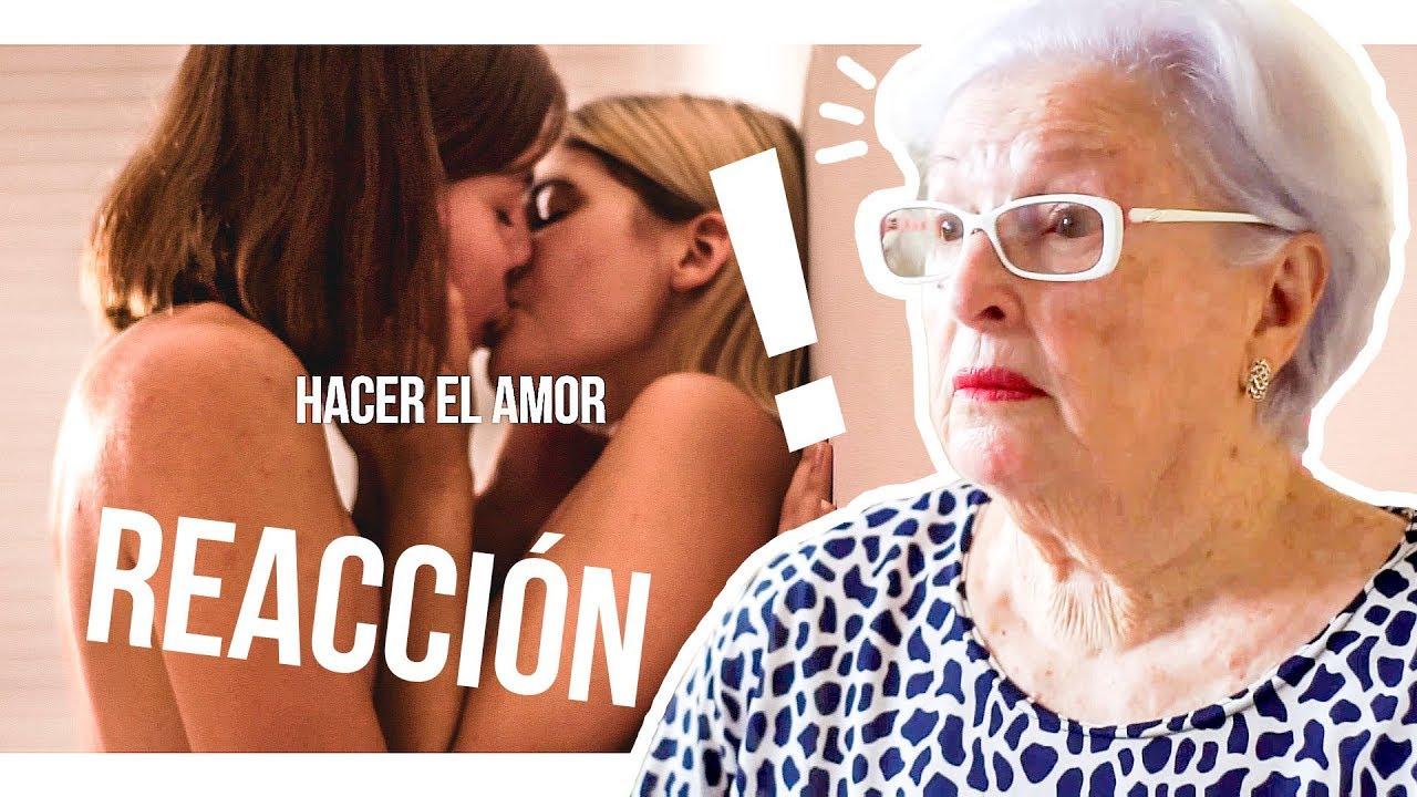 Ancianas Haciendo El Amor mi abuela reacciona a '¿follar o hacer el amor?'