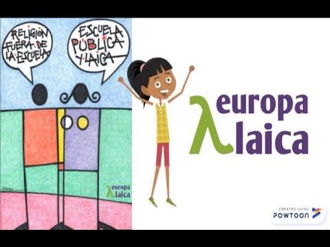 Escuela laica Europa Laica 2019