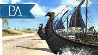 Vengeance Of The Gods: Viking Beach Landing - Total War: Attila Mod Gameplay