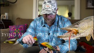 Pike / Musky Fly That Works! Step by Step Fly Tying Instructions