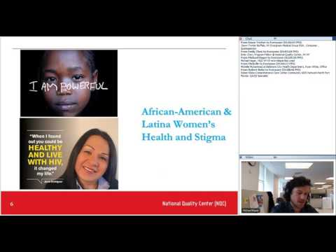 end+disparities Learning Exchange Office Hours – African American and Latina Women HIV Stigma 201703