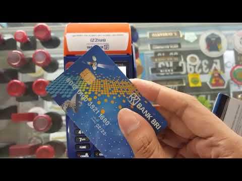 Cara Mengecek Saldo di Agen BRILink menggunakan kartu ATM Chips
