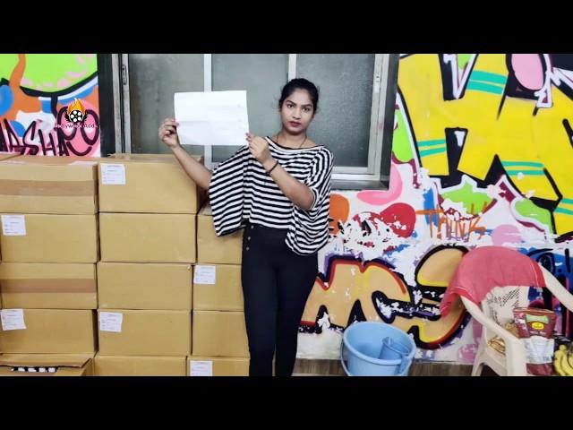 Actress Palak Khan जन नायक फाउंडेशन द्वारा मुंबई पोलीस स्टेशन और वर्कर केम्प मे सेनेटाइज और मास्क