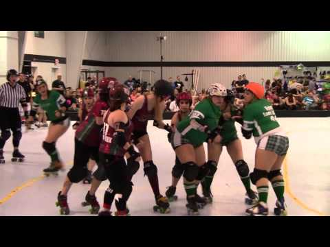 Women's Roller Derby: Hickory Street Hooligans vs Elm Street Nightmares - 3/29/2013