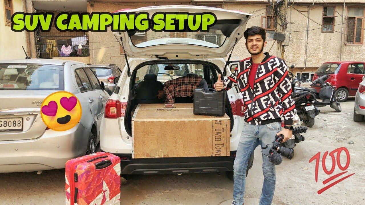 My Camping Car  | Easy Setup & Hacks | Van Life Modifications ??