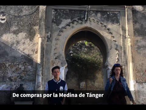 Tanger en Familia visita compras bazar medina Grand Hotel Villa de France Tangier with kids
