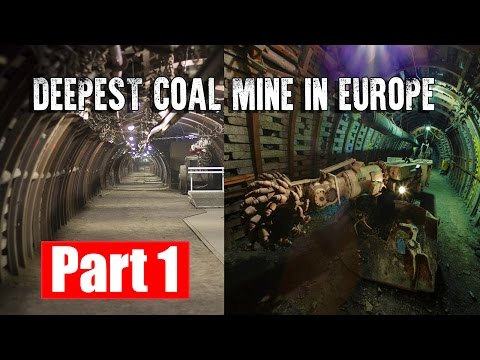 DEEPEST COAL MINE IN EUROPE Available For Tourists.  #PART 1 | Guido - Poland
