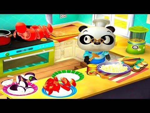 Итальянский ресторан Доктора Панды - Развивающая игра для детей  Dr. Pandas restaurant 2