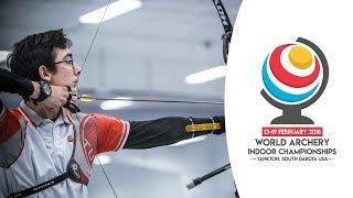 Recurve junior finals  Yankton 2018 World Archery Indoor Championships thumbnail
