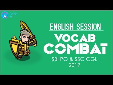 Vocab Combat for SBI PO & SSC CGL 2017