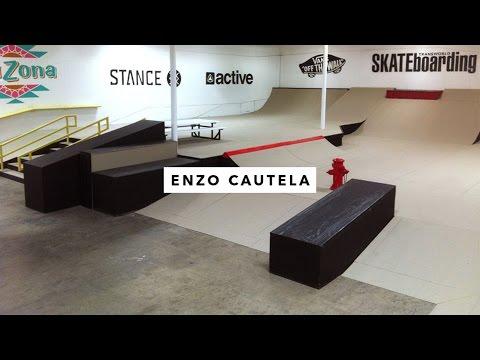 TWS Park: Enzo Cautela   TransWorld SKATEboarding